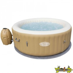 LAY-Z-SPA ROND - PALM SPRING AIR JET GONFLABLE TRICTEC