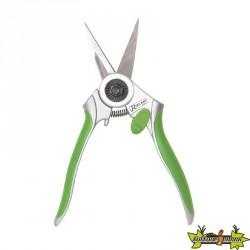 Ribiland - Sécateur droit Vert en acier inox pour Ø10mm max