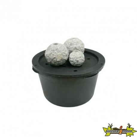 Ubbink - Fontaine - Kozani sphères granite gris clair