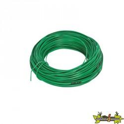 Ribiland - Lien fil galva plastifié 25m Ø2.2mm