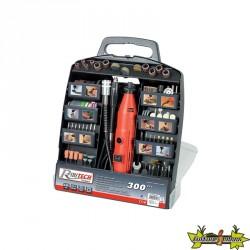 Ribitech - Kit multifonction + accessoires/outils électriques en mallette 300pcs
