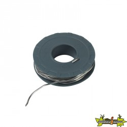 Ribitech - fil étain en bobine de 100g diam.1,5mm long 7,5m environ