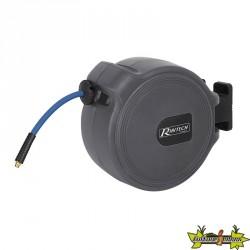 Ribitech - Dévidoir automatique tuyau d'air 15m diam. 9.3x15.3mm