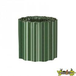 Bordure à gazon PVC vert h20cm X 9m - Nature
