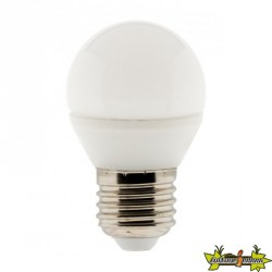 455020 AMPOULE LED SPHÉRIQUE 5W E27 2700K 400LM