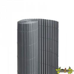 6050375 CANISSE DOUBLE FACE PVC 1900G/M2 GRIS 1X3M