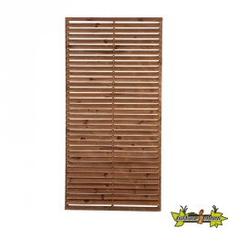 ECRAN PERSIENNE MARRON EP75 - 900X1800 MM