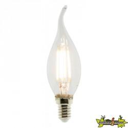 455048 AMPOULE LED FILAMENT FLAMME CDV 4W E14 2700K 400LM