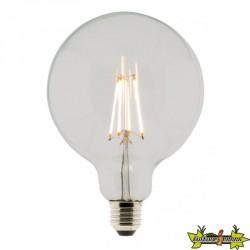 455067 AMPOULE LED FILAMENT GLOBE 125 6W E27 2700K 810LM