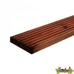 Forest-Style - Lame terrasse Marcelo marron 28x145x2400 mm