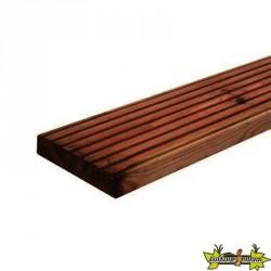 Forest-Style - Lame terrasse Marcelo marron 28x145x2400 mm