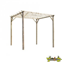 Forest-Style - Tonnelle pergola Ancolie 3000x3000x2400 mm