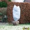 Nature -Lot de 3 housses d'hivernage à cordelette de serrage - Blanc - 0.5x1m