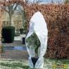 Nature - Housse d'hivernage à cordelette de serrage - Blanc - 200 x 236 cm - Diamétre 150 cm