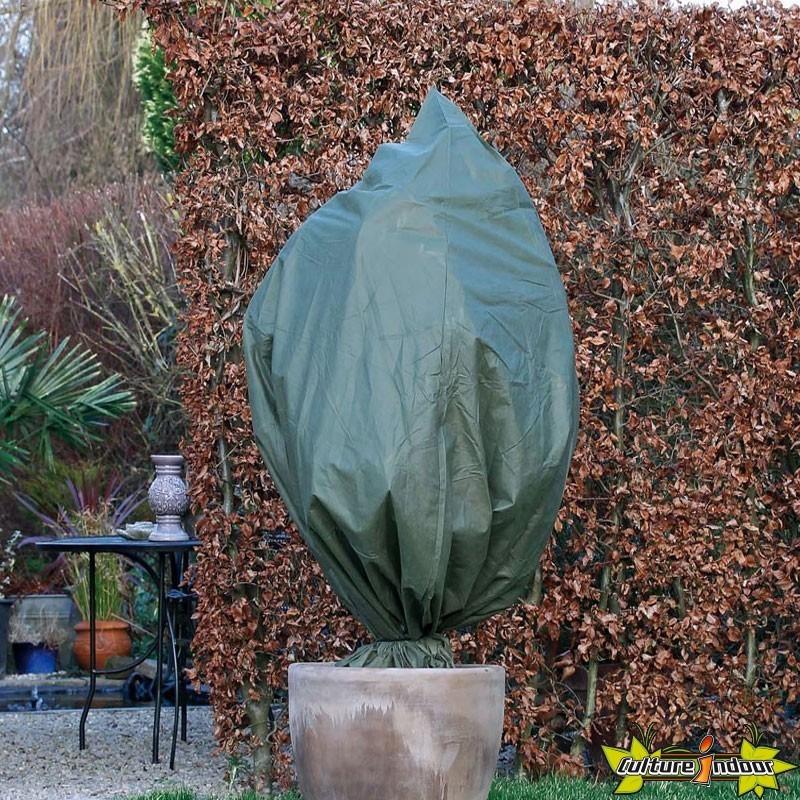 Nature - Housse d\'hivernage à cordelette de serrage - Vert ...