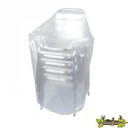 Ribiland - Housse translucide pour chaises 90g/m² - 70x70x110cm