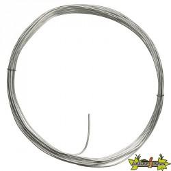 Nature - Câble fil de fer galvanisé - Diamétre de 2,7 mm x longeur 25 m