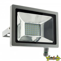 499913 PROJECTEUR 48 LED 20W GRIS