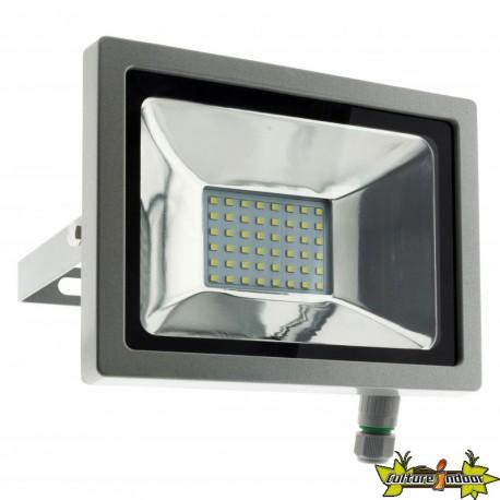 499913 PROJECTEUR 48 LED 20W GRIS