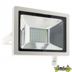 Elexity - Projecteur 48 led 20w blanc
