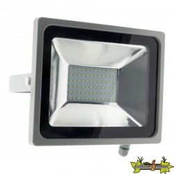 499915 PROJECTEUR 72 LED 30W GRIS