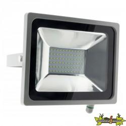 499915 PROJECTEUR 72 LED 30W GRIS