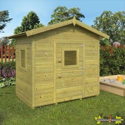 Tuin Deco - Maisonnette de jeux Pippi - 140 x 100 x 150 cm