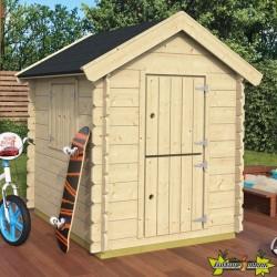 Tuin Deco - Maisonnette de jeux Gandalf - 135 x 110 x 140 cm