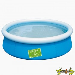 PISCINE RONDE MY FIRST FAST SET POOL 152X38 DECOR 477L