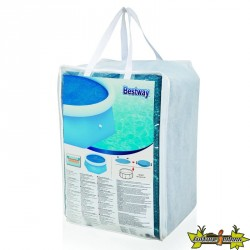 Bestway - Bâche solaire pour piscine Fast Set 244 - Ø 210cm