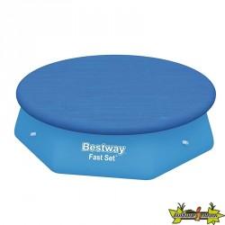 Bestway - Bâche 4 saisons pour piscine Fast Set 244 - Ø 210cm