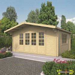Tuindeco - Chalet bois massif 21.80m² - 58mm - Newcastle