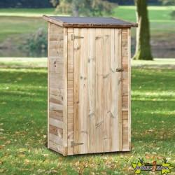 Tuindeco - Armoire de jardin avec carton bitume - Veluwe