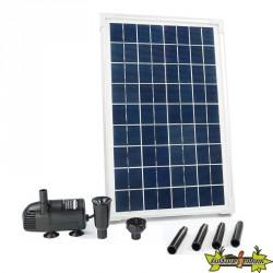 Ubbink - SolarMax 600 - Pompe fontaine avec panneau solaire 610L/h 10W
