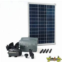 Ubbink - SolarMax 1000 - Pompe Fontaine avec panneau solaire 980-1350L/h 20W
