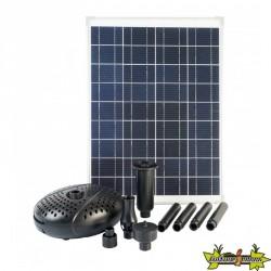 Ubbink - SolarMax 2500 - Pompe fontaine avec panneau solaire 2.480L/h 20W