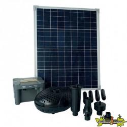 Ubbink - SolarMax 2500 Accu - Pompe fontaine avec panneau solaire 2.480L/h 20W