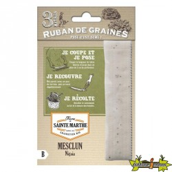 La ferme Sainte Marthe - Ruban de 300 graines Mesclun Niçois