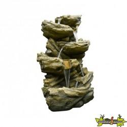 Fontaine cascade lumineuse SEDONA Hauteur 134 CM