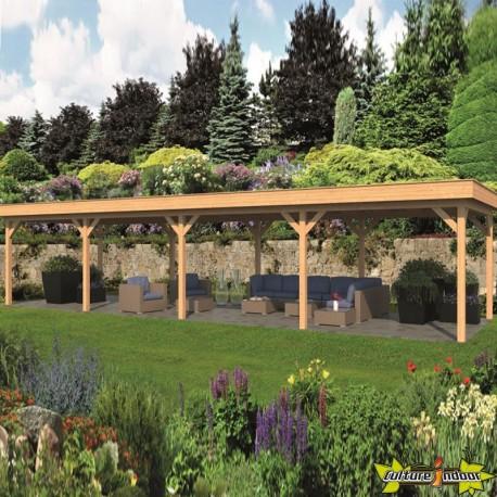 Tuindeco - Bâtiment modulaire pour jardin Oslo XL type 9