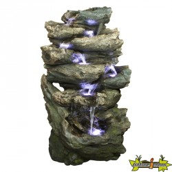 Ubbink - Fontaine cascade de jardin OAKLAND - 152 cm
