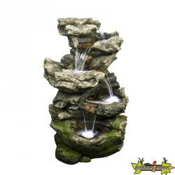 Fontaine cascade de jardin NORFOLK - 119 cm