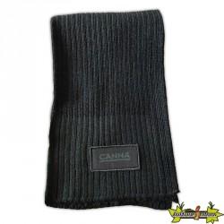 Canna - Echarpe noire en laine