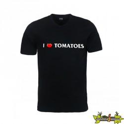 Canna - T-shirt I love tomatoes noir