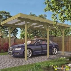 Tuindeco - Carport Simple / Annexe - 300 x 500 cm