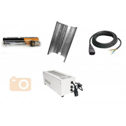 KIT Eclairage Magnetic 400W Superplant HPS - 2 - Ballast+Ampoule+Reflecteur