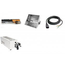 KIT Eclairage Magnetic 400W Superplant HPS - 7 - Ballast+Ampoule+Reflecteur