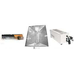 KIT Eclairage Magnetic 400W Superplant HPS - 8 - Ballast+Ampoule+Reflecteur