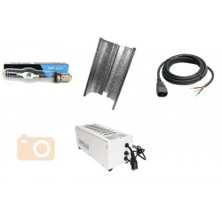 KIT Eclairage Magnetic 400W Superplant MH - 11 - Ballast+Ampoule+Reflecteur