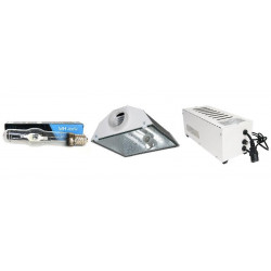 KIT Eclairage Magnetic 400W Superplant MH - 14 - Ballast+Ampoule+Reflecteur